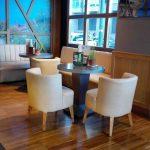Mesas interor cafetería bamberg desayunar en madrid las tablas 1