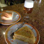Pincho de Tortilla Desayuno Mesón San Daniel Madrid Tetuán