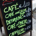Precios Desayuno Estilo Libre General Pardiñas Madrid