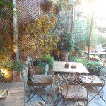 Terraza El Jardín Secreto Salvador Bachiller Desayunar en Madrid