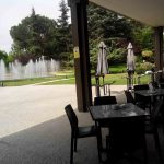 Terraza café de oriente museo del traje desayuno madrid