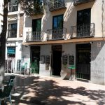 Terraza entrada La Oliva Plaza Olavide