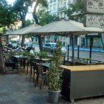 Terraza restaurante Cañadio Conde de Peñalver