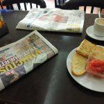 El Rancho de Avila desayuno